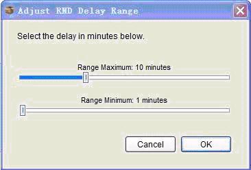 AdjustRND Delay Range 调整随机延迟范围